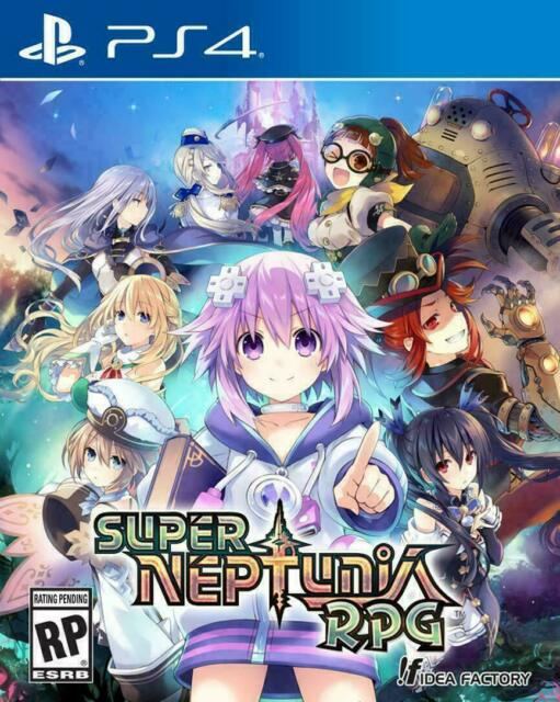 Super Neptunia RPG (Sony Playstation 4, PS4 2019) Brand New