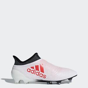 Scarpe Da Calcio Nuovi Adidas X 17+ Purespeed FG Oro Rosso