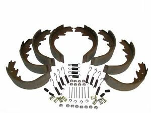 8 Brake Shoes with Return Springs & Hardware 59 60 Lincoln - all 1959 1960 NEW