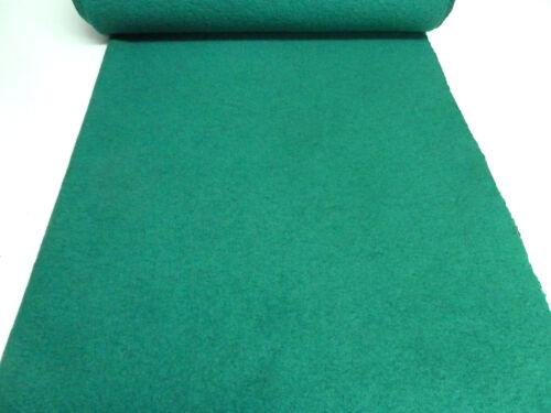 hervidas lana Koch lana WALKLODEN esmeralda verde uni abrigo de tela Sustancia Ital