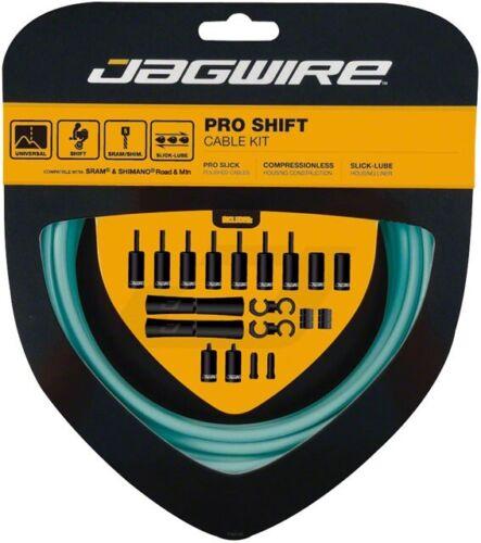 Jagwire Pro Shift Kit Cable Set Road Mountain Bike SRAM Shimano Bianchi Celeste