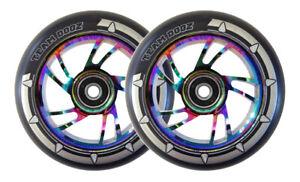 Slamm  110mm Scooter Wheel   Rainbow   Each 13.95