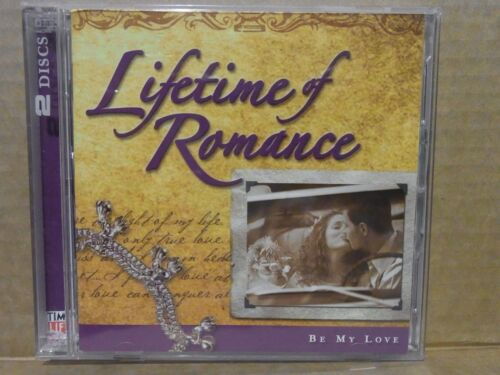 1 of 1 - Lifetime Of Romance - Be My Love, Various Artists (2 x CD's, Time Life) k2