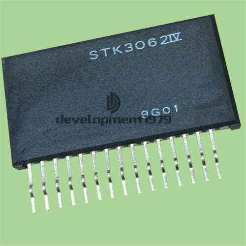 1PCS STK3062IV STK-3062IV SANYO Encapsulation:SIP-15 Audio Power AMP IC MODULE