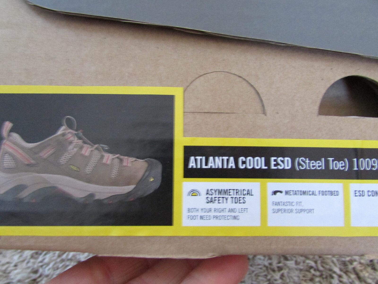 NEW KEEN ATLANTA STEEL TOE WORK Schuhe Damenschuhe KEEN 6 1009875M SAFETY TOE KEEN Damenschuhe UTILITY 8e4704