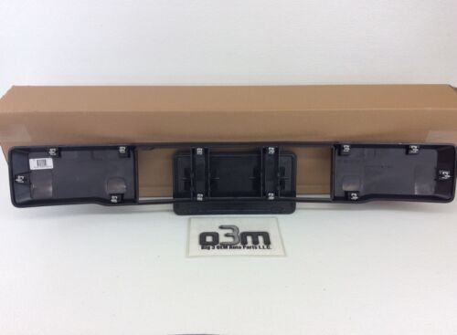 2015-2016 Ford F-150 Front License Plate Bracket Bumper Panel Cover new OEM