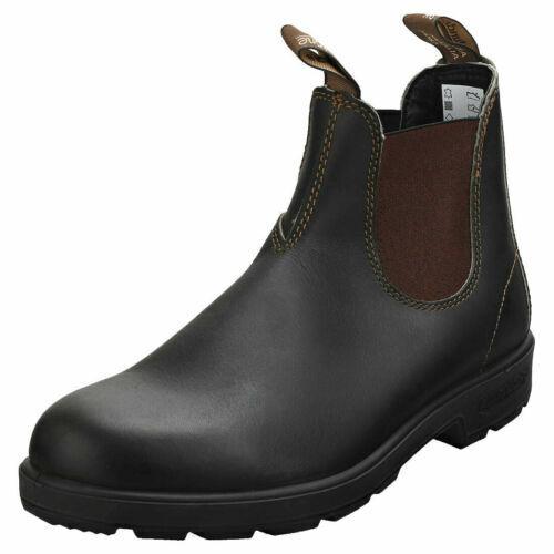 Blaundstone 500 Stout Round Toe braun Premium Leather Classic Australian Stiefel
