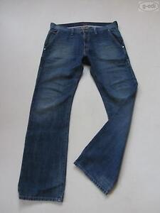 Levi-039-s-RED-Bootcut-Jeans-Hose-W-34-L-34-True-Vintage-Denim-Einzelstueck-50