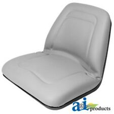 Universal Gray Deluxe Lawn Mower High-Back Seat TM555GR