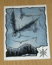 2016 Cryptozoic Hobbit Battle Five Armies fine art sketch Mikey Babinski 1/1