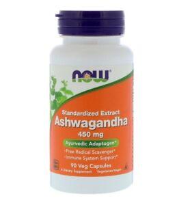 NOW-FOODS-Ashwagandha-450-mg-90-Veggie-Caps