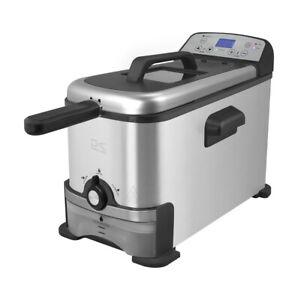 Kalorik-Digital-Deep-Fryer-with-Oil-Filtration-Refurbished