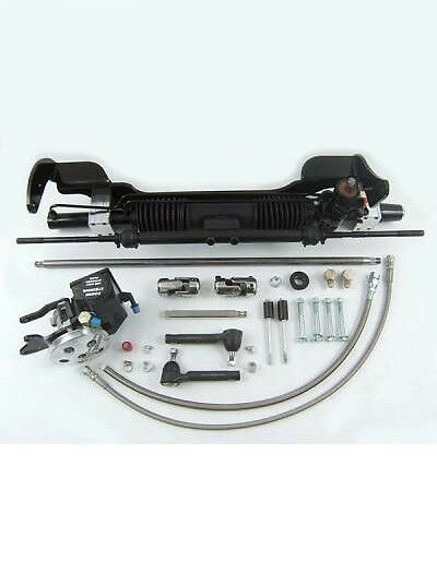 Unisteer 63-65 Small Block Ford Fairlane Power Rack & Pinion IN STOCK FAST SHIP