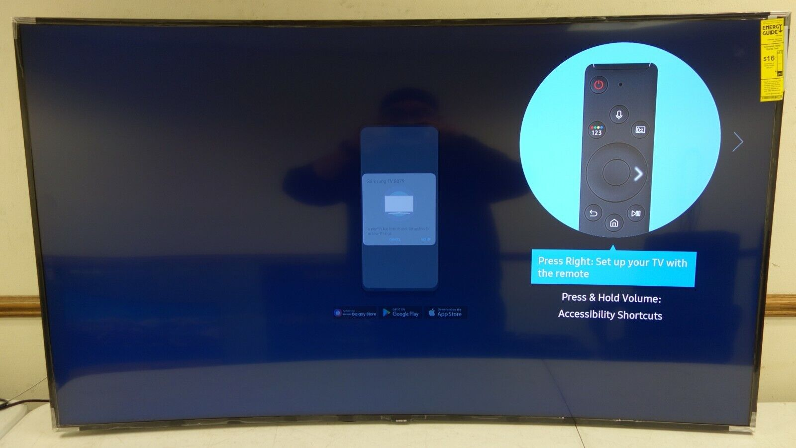 Samsung - 65 Class TU8300 Curved LED 4K UHD Smart Tizen TV(AR302). Available Now for 649.99