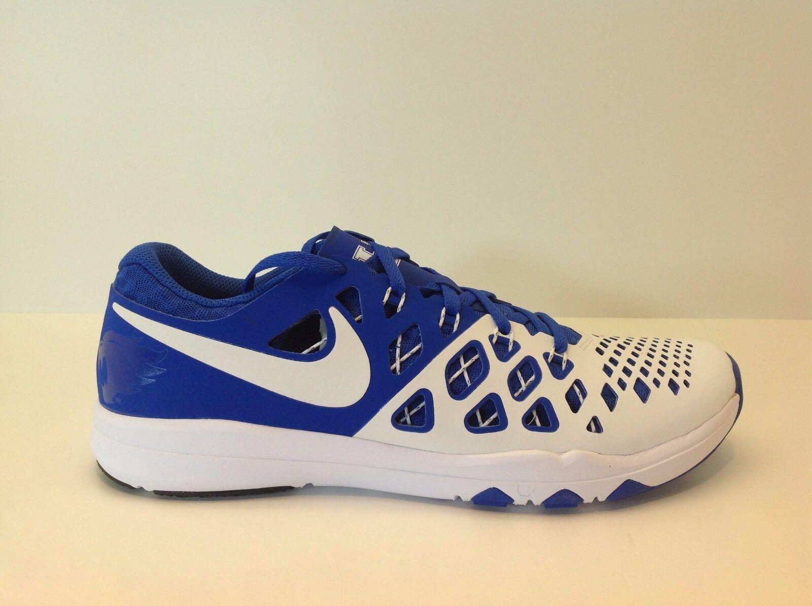 Nike Train Speed 4 Amp Men's Size 8-12 Royal/White New in Box 844102 411
