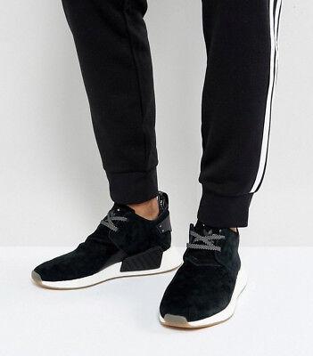 Mens ADIDAS Originals NMD C2 Suede Black Sneakers BY3011 NEW | eBay