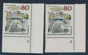 Berlin Nr. 262 FN postfrisch / **, Eckrand Ecke 4 Formnummer 1,2 (39662)