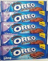 Milka Oreo Big Crunch Chocolate Candy Bars Limited Edition