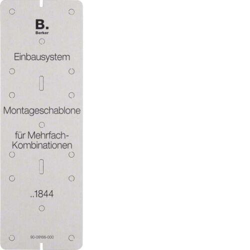 1er Berker EB-Montageschablone 91844