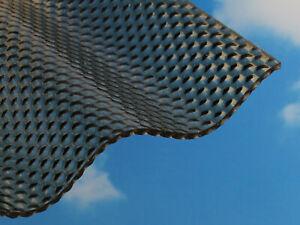Details Zu 2535 Qm Acryl Lichtplatten Wellplatten 3mm Wabenstruktur Bronze