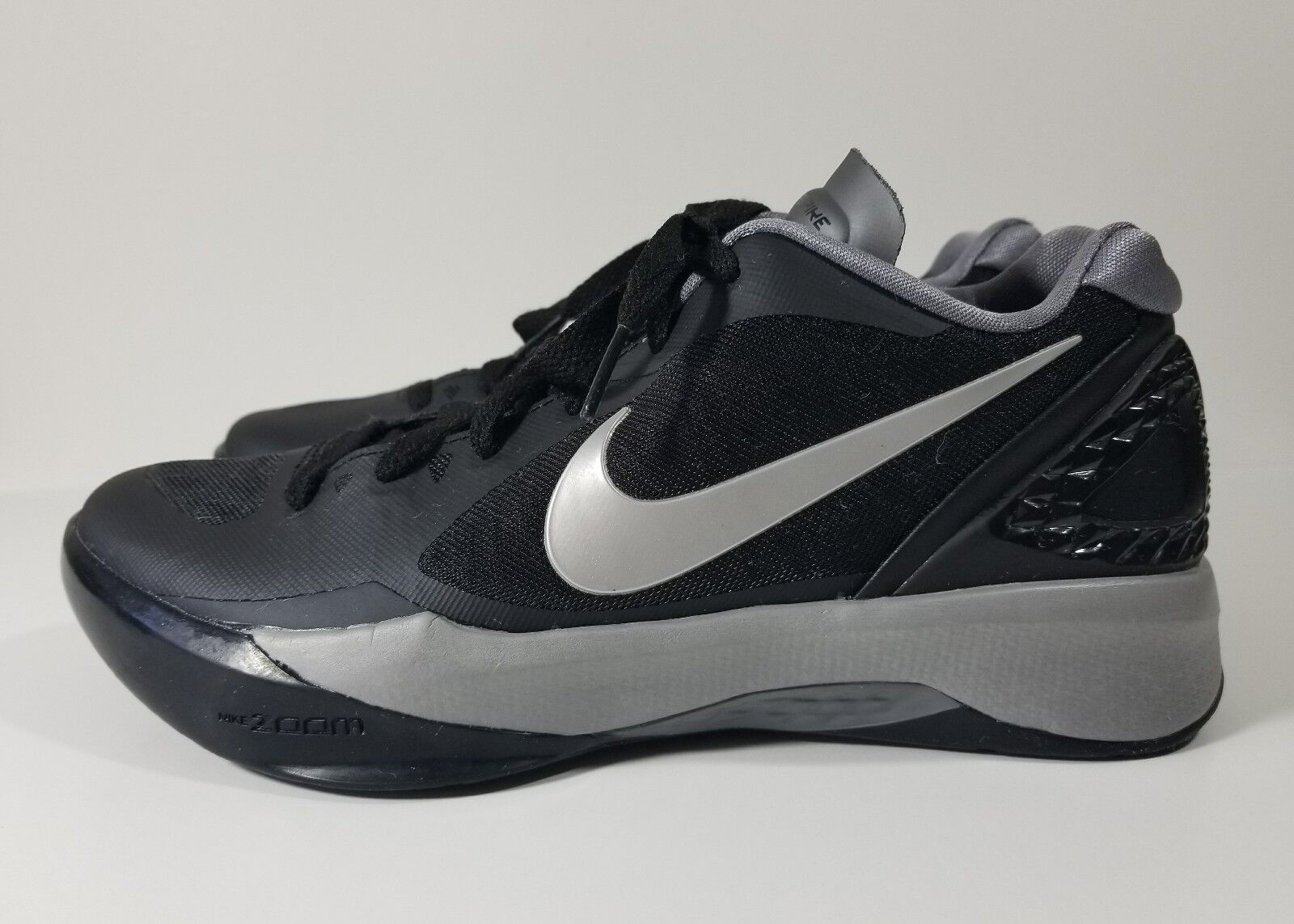 Nike Volley Zoom Zoom Zoom Hyperstrike Womens Volleyball Shoes Black Gray Size 5.5 728b7e