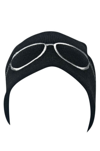Casaba Warm Winter Beanies Sunglasses Embroidery Toboggans Caps Hats Men Women