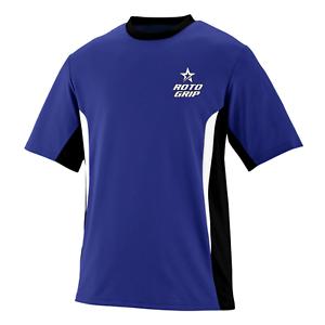 redo Grip Men's Asylum Performance Jersey Bowling Shirt Dri-Fit Purple