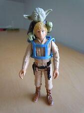 1980 Vintage Star Wars Lot Luke Skywalker Bespin + Yoda + Training Backpack