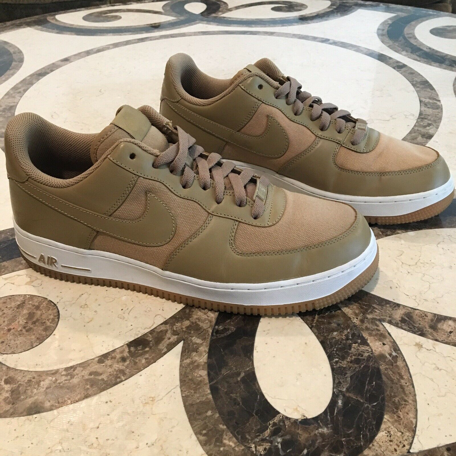 Airforce 1 RARE 2011 Size 10.5 Tan Olive Used
