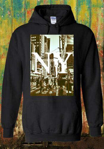 New York NY Retro Vintage Cool Funny Men Women Unisex Top Sweatshirt Hoodie 738