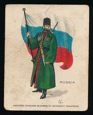 1915 T105 Zira Cigarettes -STANDARD BEARERS -Russia *Tier 2-Tough*