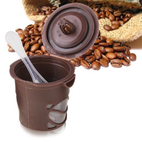 Reusable Single Serve K-Cup Filter Pod Keurig Coffee Espresso Maker K-Select