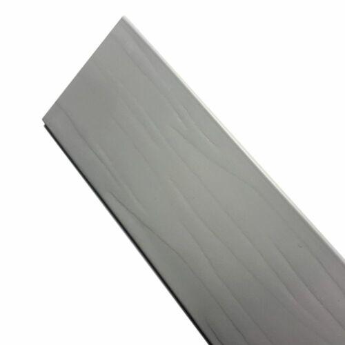 VENETIAN BLINDS PVC FAUX WOOD LIGHT GREY 50mm SLAT /& CHILD SAFE 160 /& 200cm DROP