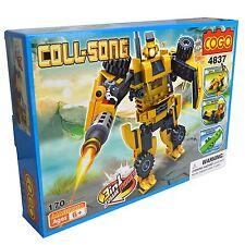 Transformer Robot Bulldozer modo Bloques de Construcción Niños Juguete Set - 170 piezas