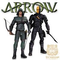 Arrow Oliver Queen & Deathstroke - Arrow Cw Tv Dc Collectibles 7 Figure 2 Pack