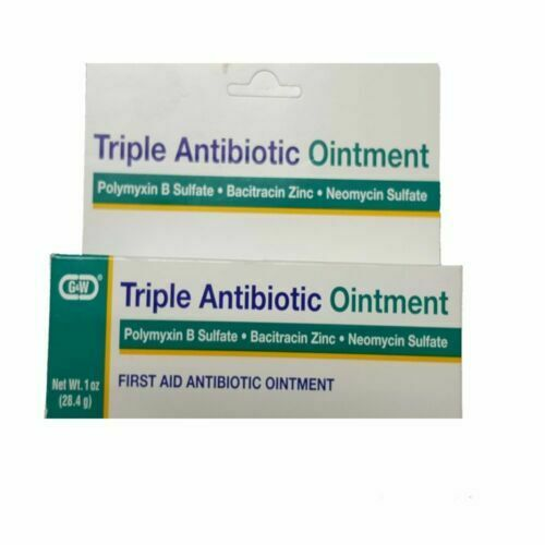 G&w Labs Triple Antibiotic Ointment 1oz 307130268318a276 for sale online |  eBay