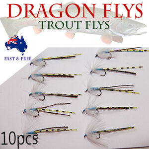 Dragonfly Flies Fly Fishing Lures Saltwater Flies Shrimps