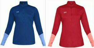 Under-Armour-UA-HeatGear-Womens-Locker-1-2-Zip-Long-Sleeve-Pullover-1309958