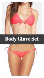 662562a8460 Body Glove Smoothies Baby Love Bikini Top +Brasilia Bottoms Vivo [XS ...