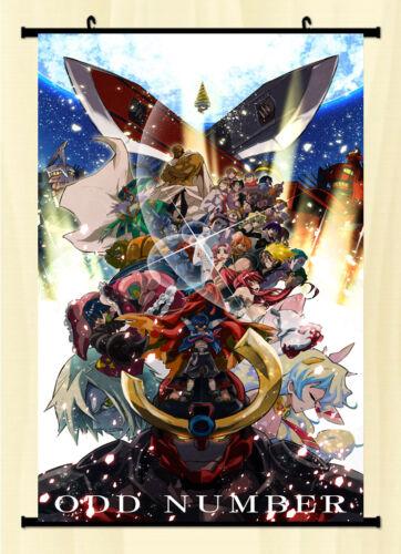 0126-Anime Tengen Toppa Gurren Lagann Fabric poster wall Scroll 40*60cm Decor
