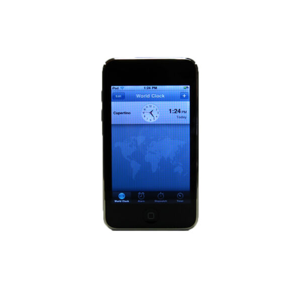 Apple iPod touch 2nd Generation (Late 2008) Black (32GB ...