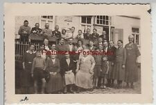 (f12898) ORIG. foto Gersfeld, gruppi immagine prima dell'dammersfelder Corte 1936