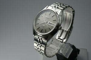 OH-Vintage-1972-JAPAN-SEIKO-LORD-MATIC-WEEKDATER-5606-7190-25Jewels-Automatic