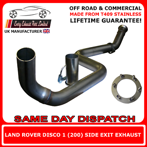 Landrover Discovery 1 Side Exit Exhaust Stainless Steel Off Road Use Brand New
