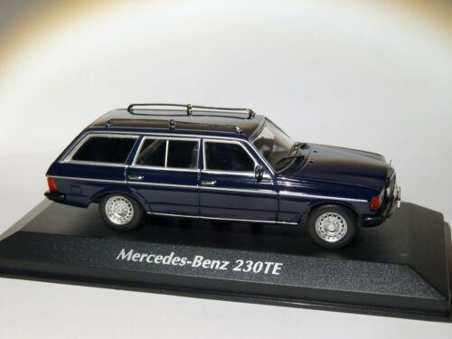 Maxichamps Mercedes Benz 230TE W123 de 1982 au 1//43 de Minichamps