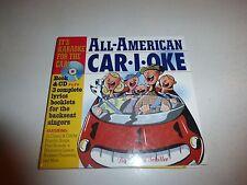 All-American CAR-I-OKE (c.2003 Hardcover & Spiral-bound w/CD) David Schiller 231