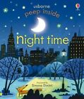 Peep Inside Night-Time by Anna Milbourne (Board book, 2014)