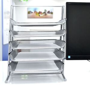 Image Is Loading A4 Doent Letter Tray 5 Tier Office Filing