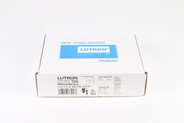 Lutron Qsyc4-main-rep Sivoia QS Wireless Main Repeater   eBay