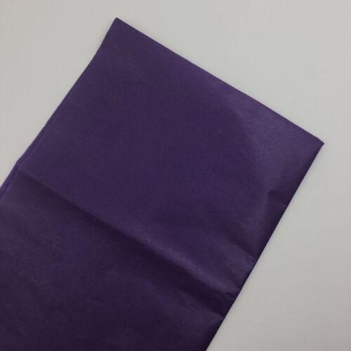 10 SHEETS ACID FREE TISSUE PAPER VARIOUS COLOUR 50CM*35CM 14x20 inch 50cm X 75cm